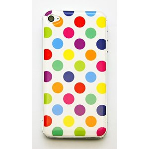 【iPhone/Xperia】ドーミングスマホスキンシール カラフルドット〈全2タイプから〉|artpop-shop