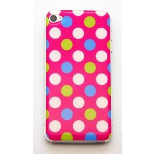 【iPhone/Xperia】ドーミングスマホスキンシール スポーティードット〈全5色から〉|artpop-shop