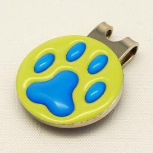 【ゴルフマーカー・グリーンマーカー】肉球 ゴルフマーカー 青色タイプ〈全14色〉 artpop-shop