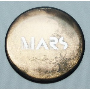 【3Dステッカー】 惑星ステッカー[火星] artpop-shop