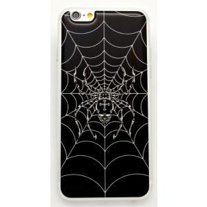 【iPhone/Xperia】ドーミングスキンシール ドクロ蜘蛛|artpop-shop
