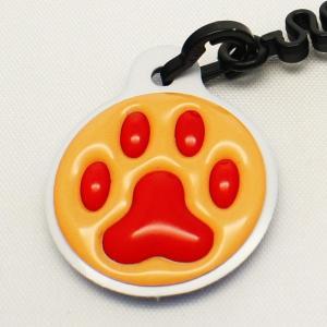 【クリーナーストラップ】肉球 携帯クリーナーストラップ 赤色タイプ〈全14色〉|artpop-shop