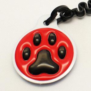 【クリーナーストラップ】肉球 携帯クリーナーストラップ 黒色タイプ〈全14色〉|artpop-shop