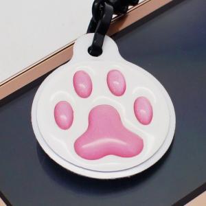 【クリーナーストラップ】肉球 携帯クリーナーストラップ ピンク色タイプ〈全14色〉|artpop-shop