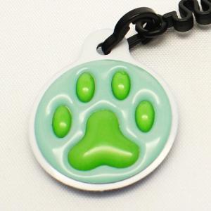 【クリーナーストラップ】肉球 携帯クリーナーストラップ 緑色タイプ〈全14色〉|artpop-shop