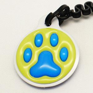 【クリーナーストラップ】肉球 携帯クリーナーストラップ 青色タイプ〈全14色〉|artpop-shop