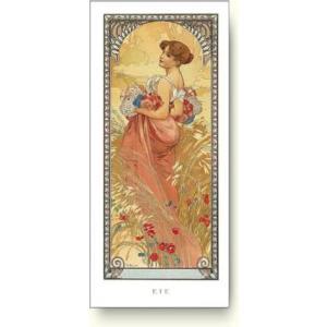 【出荷区分C】アルフォンス ミュシャ 四季-夏, 1900年 Alphonse Mucha: Ete, 1900【アートポスター】|artposters