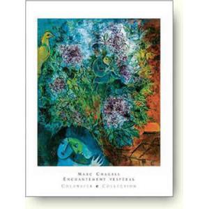 アートポスター マルク・シャガール 魅惑の夕暮れ Marc Chagall: Enchantment Vesperal artposters