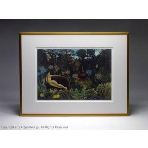 アンリ・ルソー 夢 額付ポスター Henri Rousseau:The Dream|artposters|04