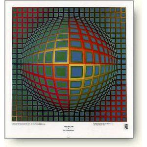 ヴィクトル・ヴァザルリ Vega-Nor 【アートポスター】|artposters