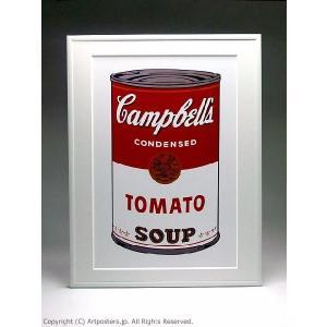 アンディ・ウォーホル キャンベルスープ缶トマト 額付ポスター Andy Warhol:Campbell's Soup I: Tomato, 1968【特価額装品】|artposters|02