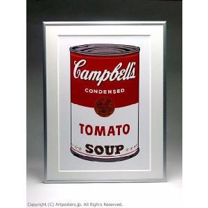 アンディ・ウォーホル キャンベルスープ缶トマト 額付ポスター Andy Warhol:Campbell's Soup I: Tomato, 1968【特価額装品】|artposters|03