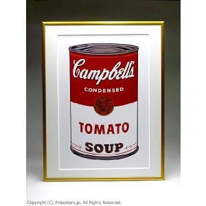 アンディ・ウォーホル キャンベルスープ缶トマト 額付ポスター Andy Warhol:Campbell's Soup I: Tomato, 1968【特価額装品】|artposters|04