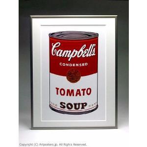 アンディ・ウォーホル キャンベルスープ缶トマト 額付ポスター Andy Warhol:Campbell's Soup I: Tomato, 1968【特価額装品】|artposters|05