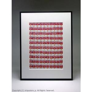 アンディ・ウォーホル 100個のキャンベルスープ缶 額付ポスター Andy Warhol:One Hundred Cans, 1962|artposters