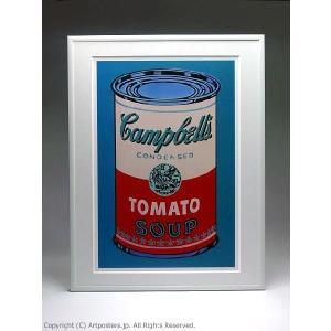 【出荷区分B】アンディ・ウォーホル キャンベルスープ缶(ピンクと赤) 額付ポスター Andy Warhol:Colored Campbell's Soup Can, 1965 (pink & red)|artposters|02