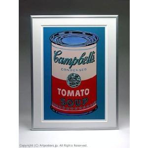 【出荷区分B】アンディ・ウォーホル キャンベルスープ缶(ピンクと赤) 額付ポスター Andy Warhol:Colored Campbell's Soup Can, 1965 (pink & red)|artposters|03