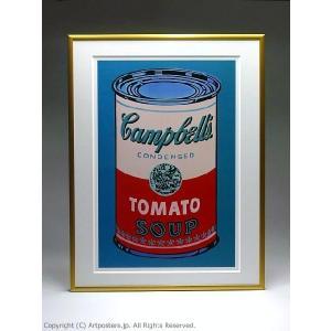 【出荷区分B】アンディ・ウォーホル キャンベルスープ缶(ピンクと赤) 額付ポスター Andy Warhol:Colored Campbell's Soup Can, 1965 (pink & red)|artposters|04