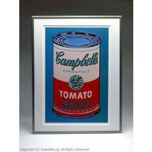 【出荷区分B】アンディ・ウォーホル キャンベルスープ缶(ピンクと赤) 額付ポスター Andy Warhol:Colored Campbell's Soup Can, 1965 (pink & red)|artposters|05