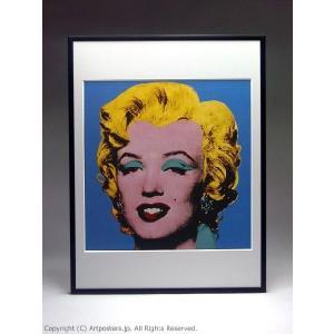 アンディ・ウォーホル ショット・ライトブルー・マリリン 額付ポスター Andy Warhol:Shot Light Blue Marilyn, 1964|artposters