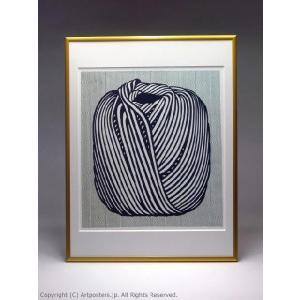 ロイ・リキテンスタイン 毛糸玉 額付ポスター Roy Lichtenstein:Ball of Twine, 1963|artposters|04