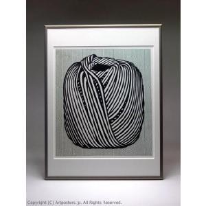 ロイ・リキテンスタイン 毛糸玉 額付ポスター Roy Lichtenstein:Ball of Twine, 1963|artposters|05