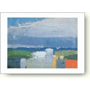 ニコラ・ド・スタール Nicolas De Stael: Noon Landscape 【アートポスター】|artposters