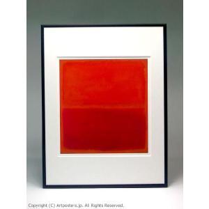 マーク・ロスコ ナンバー3 額付ポスター Mark Rothko:No. 3, 1967|artposters