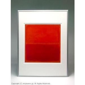 マーク・ロスコ ナンバー3 額付ポスター Mark Rothko:No. 3, 1967|artposters|03
