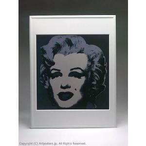 アンディ・ウォーホル マリリン(ブラック) 額付ポスター Andy Warhol:Marilyn Monroe (Marilyn), 1967 (black)【特価額装品】|artposters|02