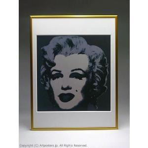 アンディ・ウォーホル マリリン(ブラック) 額付ポスター Andy Warhol:Marilyn Monroe (Marilyn), 1967 (black)【特価額装品】|artposters|04