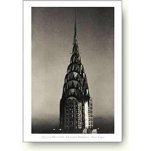 【フォトポスター】シーラ・メッツナー クライスラービル (Chrysler Building, New York)|artposters