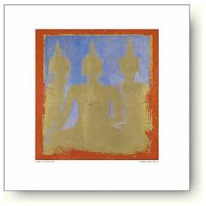 【アートポスター】シャルル・ニューイントン 仏陀、 ワット・ポー II|artposters