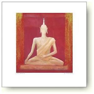 【アートポスター】シャルル・ニューイントン 仏陀、 ワット・ポー I|artposters