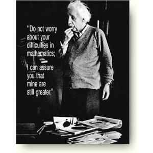 アルバート アインシュタイン 心配するな ポスター|artposters