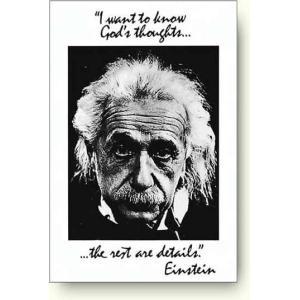 アインシュタインポスター 神の考え Einstein - God's Thoughts|artposters