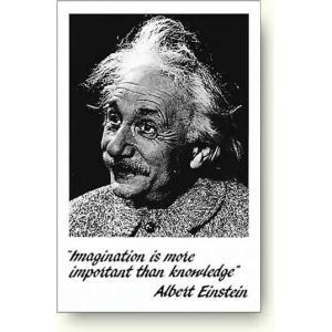 アインシュタインポスター Einstein - Imagination|artposters