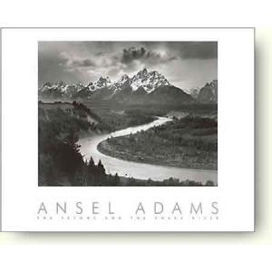 アンセル・アダムス ティートンとスネーク川 【フォトポスター】|artposters