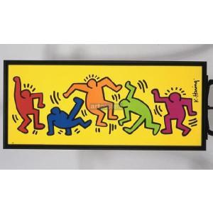 キース・ヘリング/アンタイトル(ダンス) ポスター+高級額縁 【特価額装品】|artposters