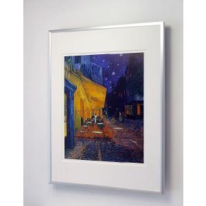 【出荷区分B】フィンセント・ファン・ゴッホ:夜のカフェテラス 額付ポスター Vincent Van Gogh:Cafe Terrace at Night|artposters|03