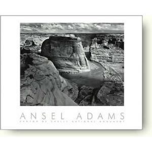 アンセル・アダムス キャニオン・デ・シェイ Canyon de Chelly 【フォトポスター】|artposters