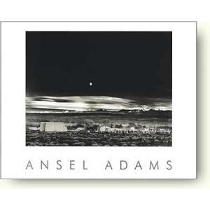 アンセル・アダムス 月の出, ヘルナンデス Moonrise 【フォトポスター】|artposters