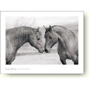 【フォトポスター】アルブラフト Jose Blinked First(馬)|artposters