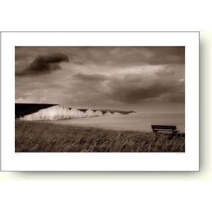 レズリー・アッガー(Lesley Aggar) Beach, Seven Sisters 【フォトポスター】|artposters