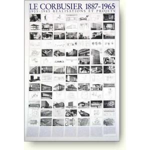 ル・コルビジェ 建築と計画 【アートポスター】|artposters