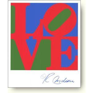 ロバート・インディアナ(Robert Indiana) Classic Sky Love (Red Green Blue) 【シルクスクリーン】|artposters