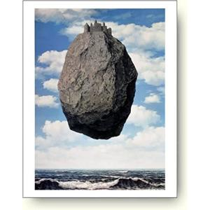 ルネ・マグリット(Rene Magritte) ピレネーの城(La chateau des Pyrenees) 【アートポスター】|artposters