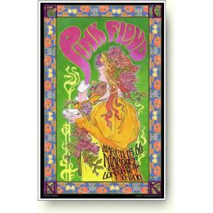 ピンクフロイド コンサートポスター/1966年ロンドン |artposters