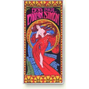 ボブ・ディラン&ポール・サイモン コンサートポスター|artposters