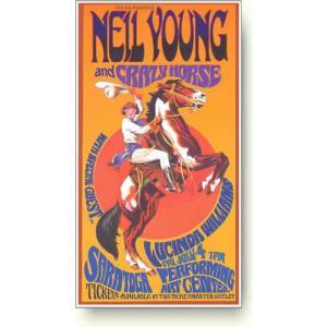 ニール・ヤング&クレイジホース コンサートポスター|artposters